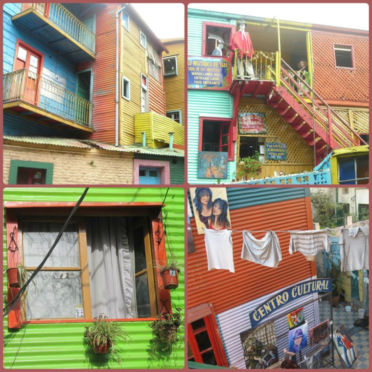 As casas coloridas do Caminito.