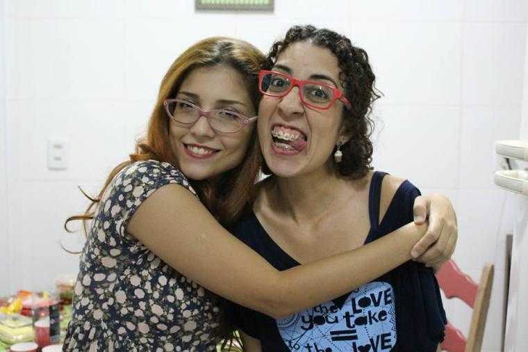 Marina e eu!