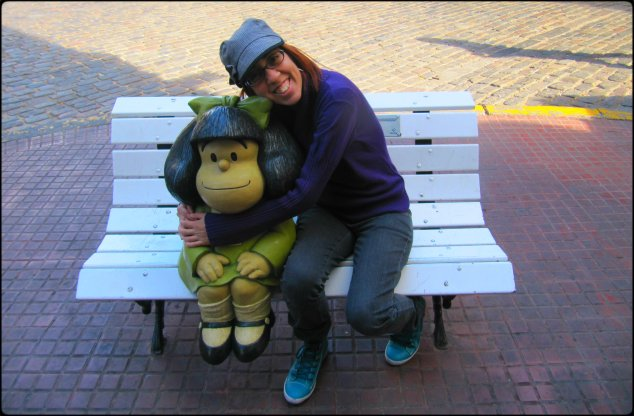 Eu e Mafalda, Mafalda e eu.